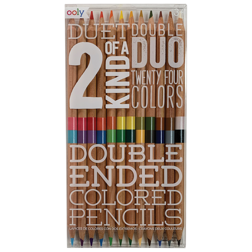Double Ended Color Pencils