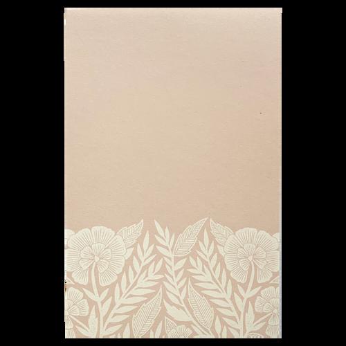 Blush Floral Notepad
