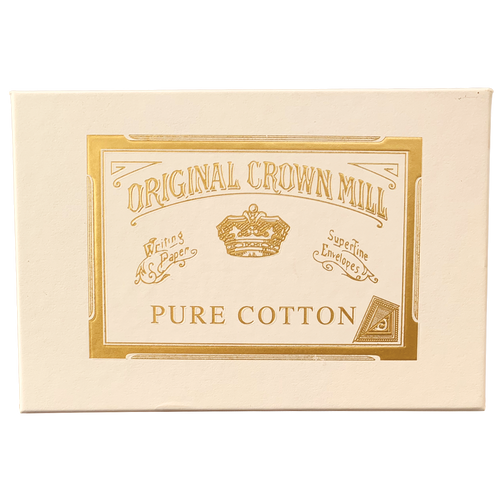 Crown Mill Cotton Card Box