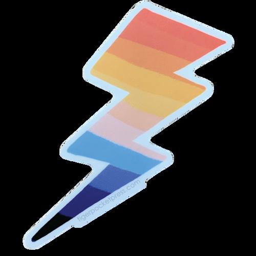 Rainbow Lightning Sticker TPP