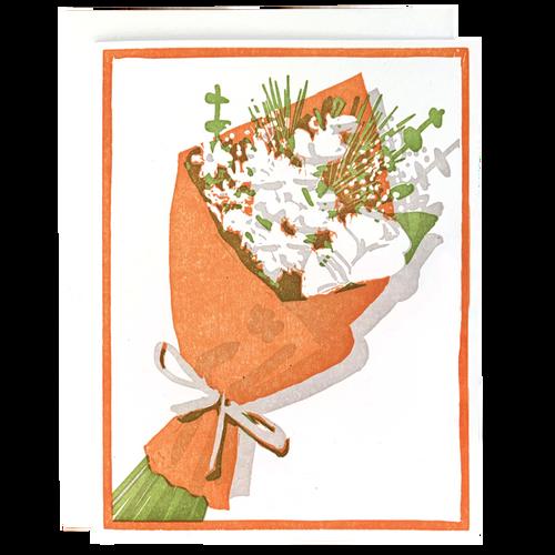 Brown Paper Bouquet