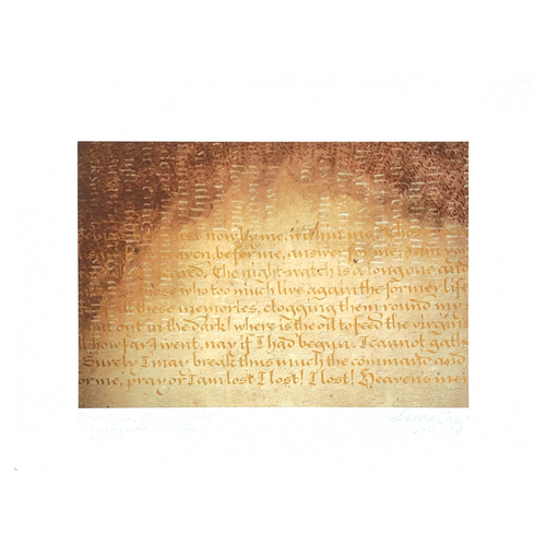 """Detail, """"Sister Annunciata"""" II"""