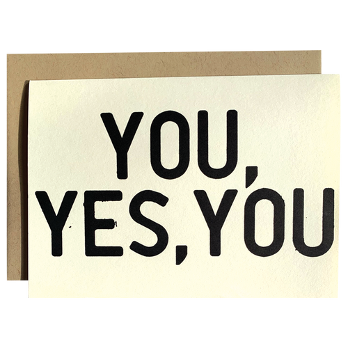 You, Yes, You