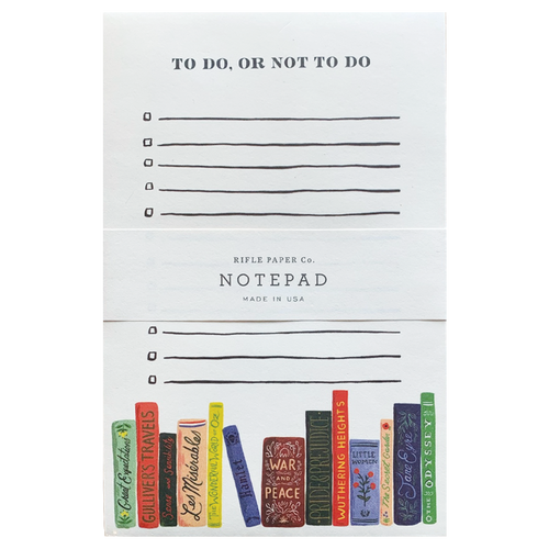 To Do, Not To Do Notepad