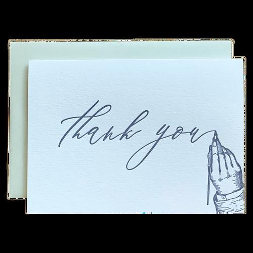 Handwritten Thank You Note Card