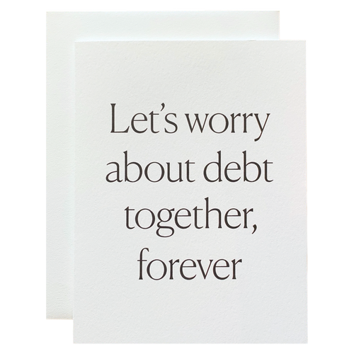 Let's Worry Together
