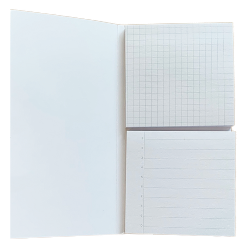 Adhesive Notes: Grid & Lined