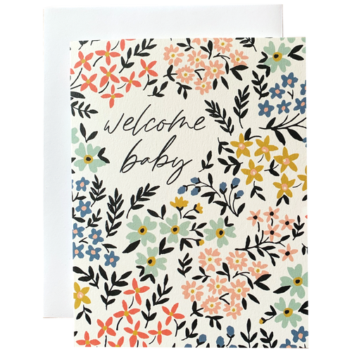 Welcome Baby Floral