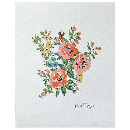 Sweet Rose Print
