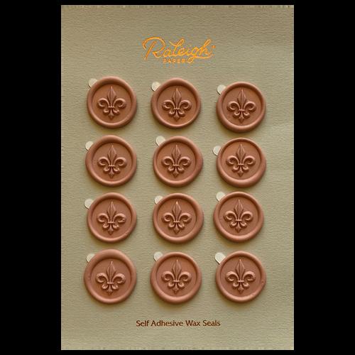 Fleur De Lis Wax Seals