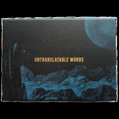 Untranslatable Words Card Set