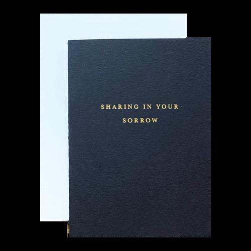 Sharing Sorrow Card