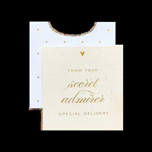 Secret Admirer Mini Enclosure Card