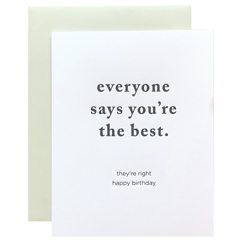 The Best Card