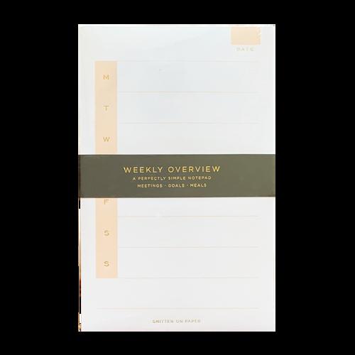 Weekly Medium Notepad