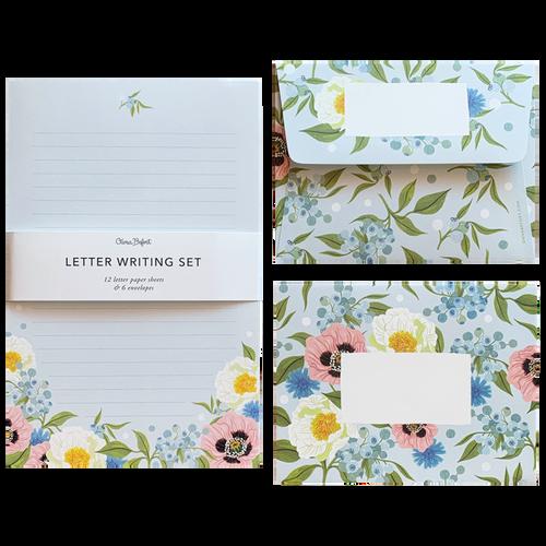 Lush Flora Letter Set