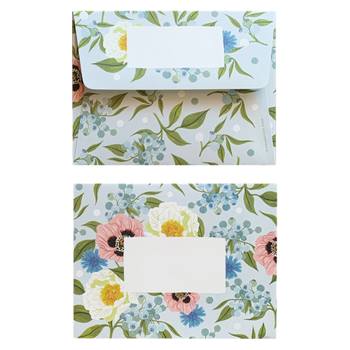 Lush Flora Boxed Envelopes