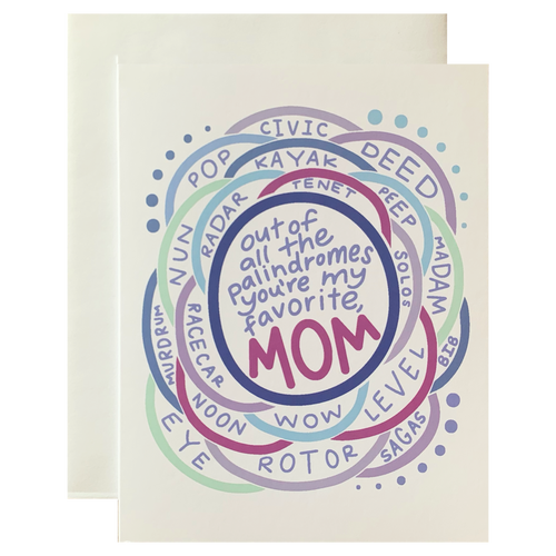 Mother's Day Palindrome