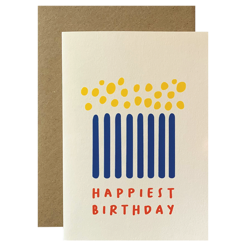 Happiest Birthday Candles