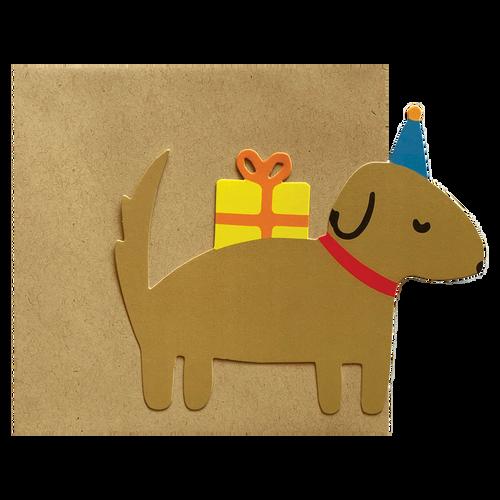 Die-Cut Party Dog