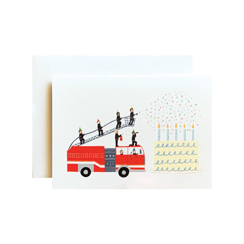 Birthday Firetruck Mini