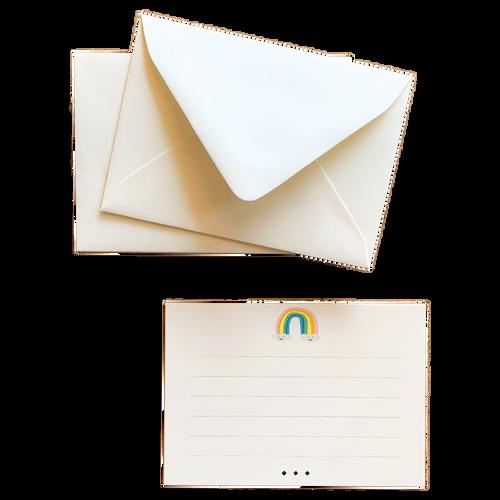 Rainbow Fancy Little Cards