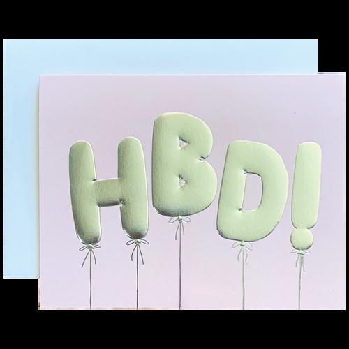 HBD Balloons
