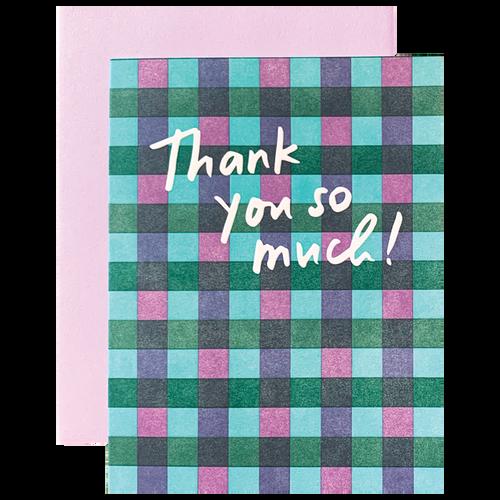 Plaid Thank You