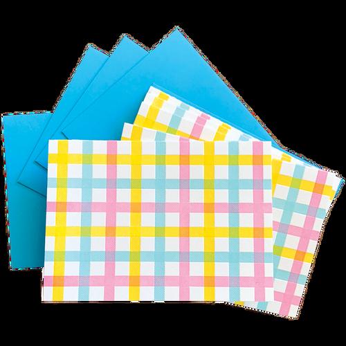 Plaid Pattern Boxed Set