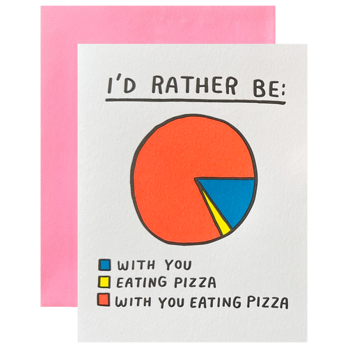 I'd Rather Be Pie Chart