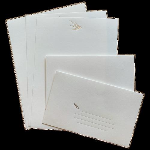 Bird Letter Set