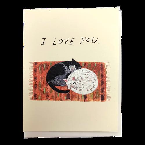 Cat Cuddle Love