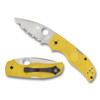 Spyderco Native 5 Salt Yellow Serrated Lockback