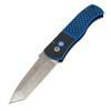 Protech E7T34 Emerson Black/Blue Acid Wash Tanto P/E