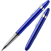 Fisher Bullet Pen Blueberry Blue w/Chrome Plated Tip And Clip