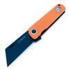 Finch Runtly -  Orange Flash ~ Black Washed 154cm Blade *REC* Exclusive