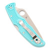Spyderco Endura  4 TEAL / S30V *Distributor Exclusive*