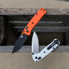 Benchmade 533 RECMOD Orange Handle / Black Blade