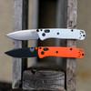 Benchmade 533 RECMOD White Handle / Satin Blade