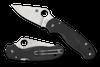 Spyderco Para 3 Lightweight Black / Satin P/E