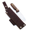 LT Wright Bushcrafter A2 Flat G-Wood Red