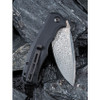 Civivi C803DS Praxis Black G10 Damascus Blade