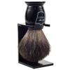 Parker Black / Black Badger Brush