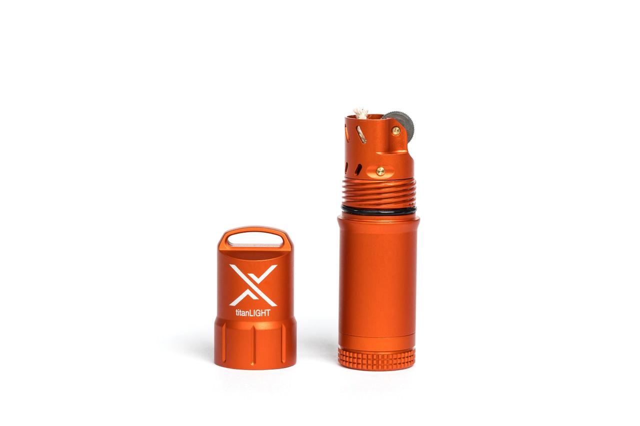 Exotac titanLIGHT Orange Aluminum