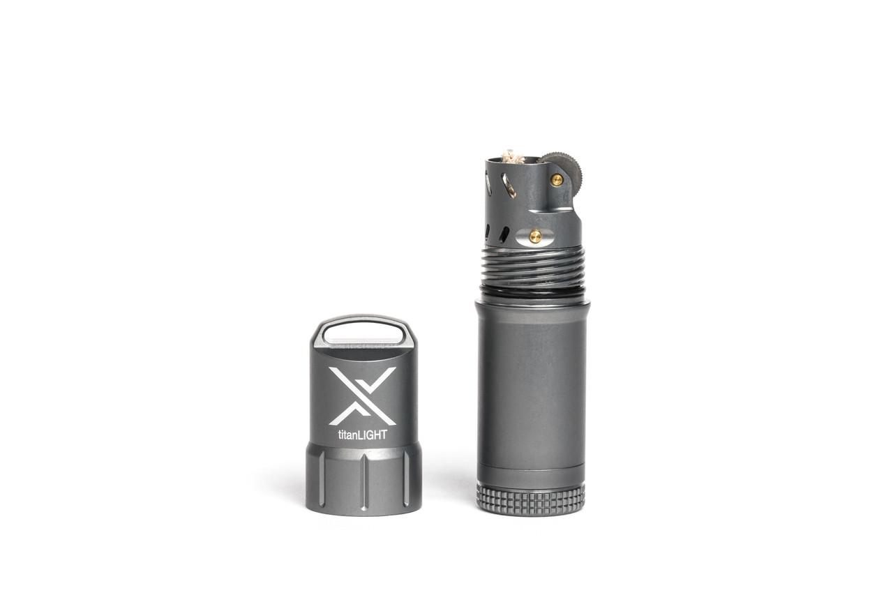 Exotac titanLIGHT Gunmetal Aluminum