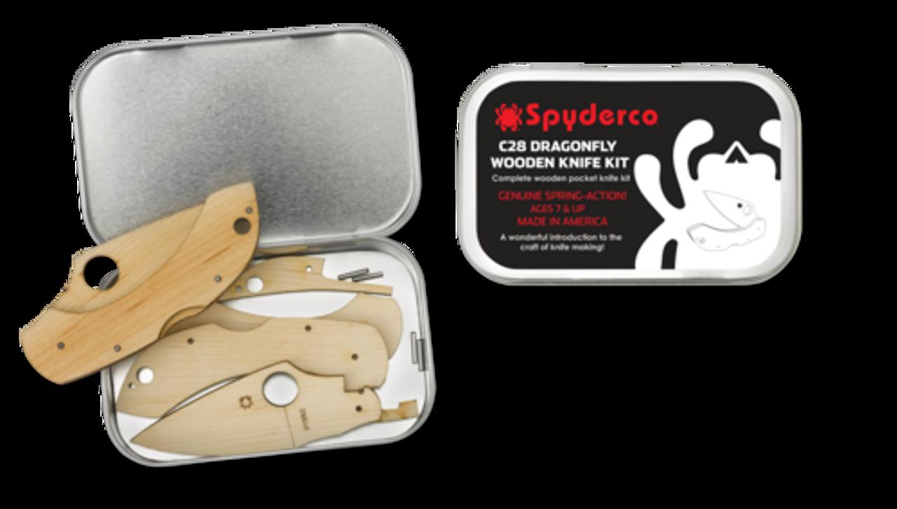 Spyderco Dragonfly Wooden Kit