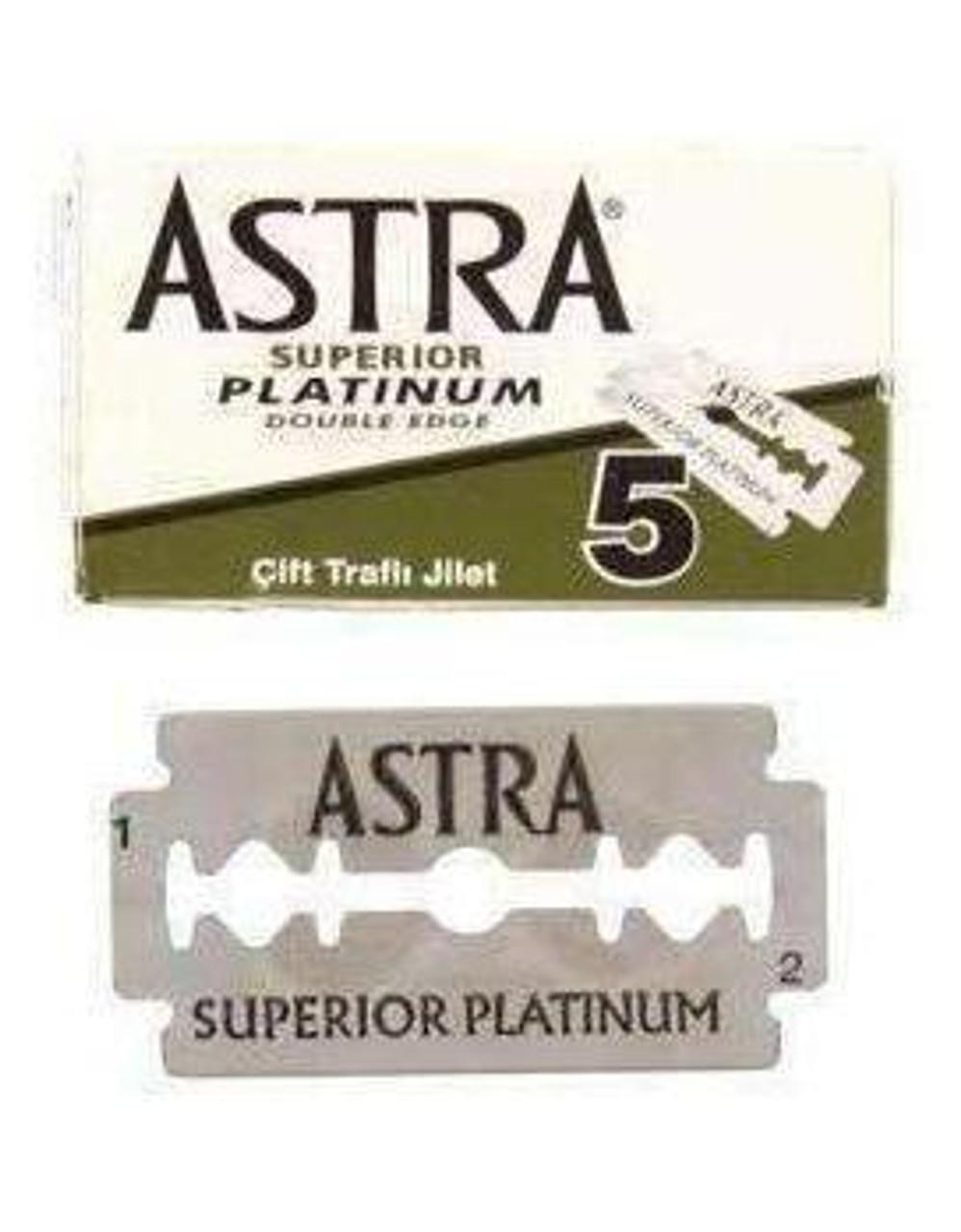 Astra Platinum Blades 5Pk