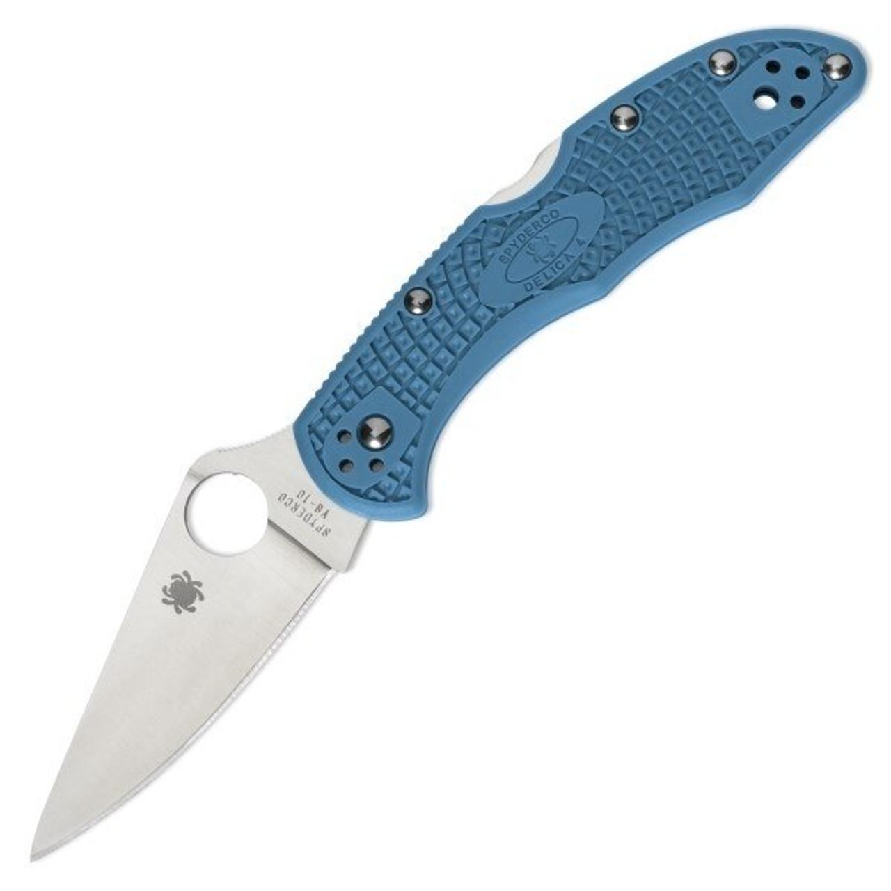 Spyderco Delica 4 Blue FG