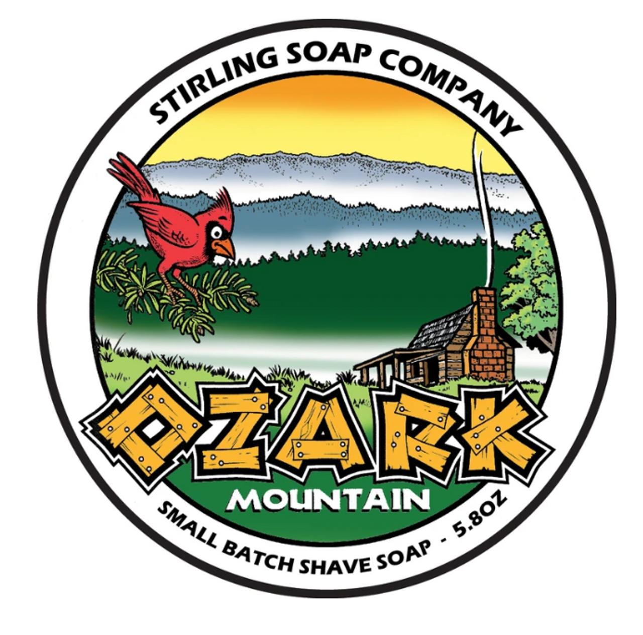 Stirling Ozark Mountain Shave Soap 5.8oz