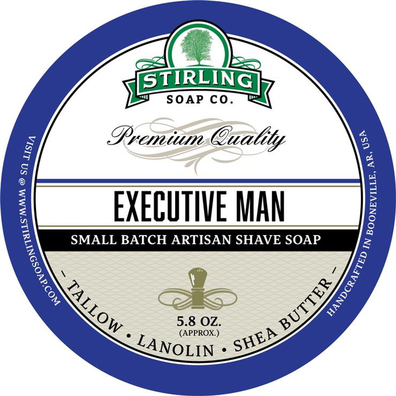 Stirling Executive Man Shave Soap 5.8oz